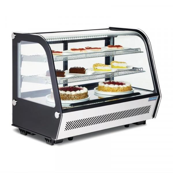 Polar Kühlvitrine Tischmodell 160L