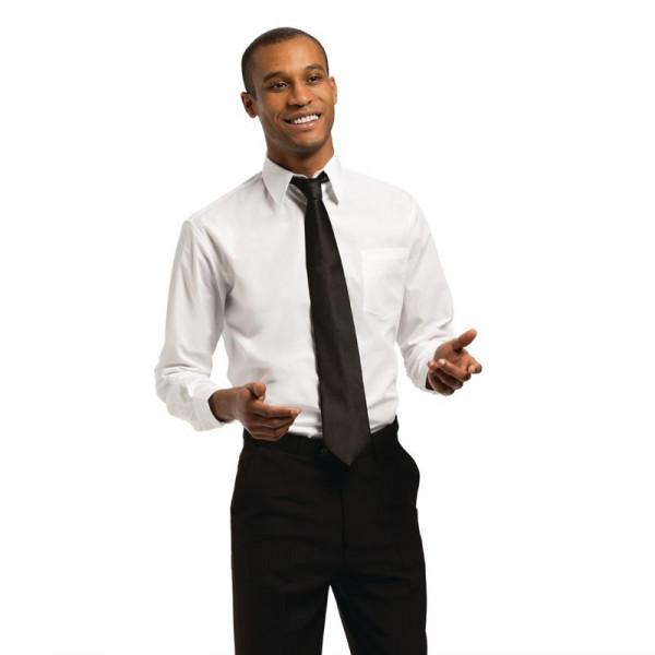 Uniform Works Unisex Oberhemd weiß S