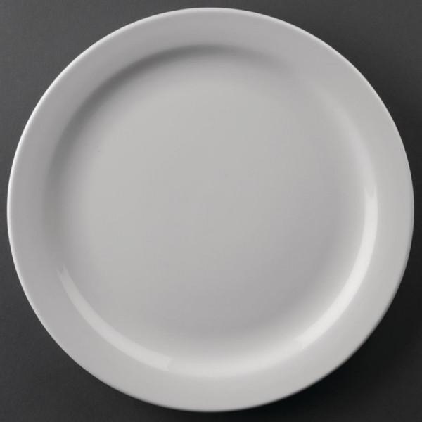 Athena Hotelware runde Teller mit schmalem Rand 22,6cm