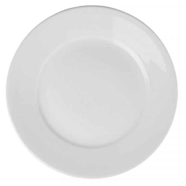 Athena Hotelware runde Teller mit breitem Rand 28cm