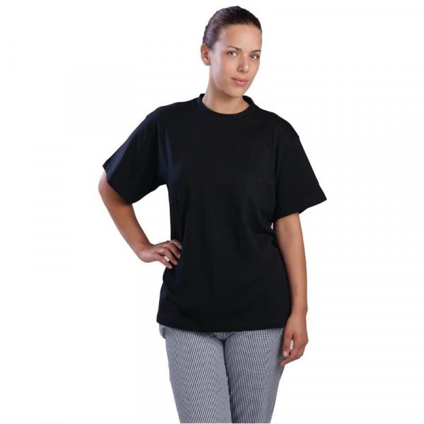 Unisex T-Shirt schwarz L