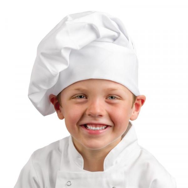 Whites Kinderkochmütze weiß