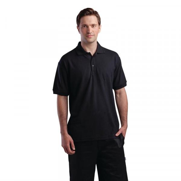 Unisex Poloshirt schwarz S