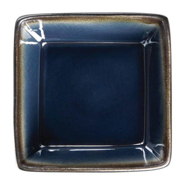 Olympia Nomi Square Bowl Blue 110mm