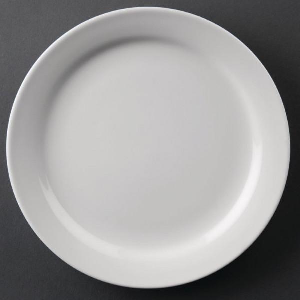 Athena Hotelware runde Teller mit schmalem Rand 16,5cm