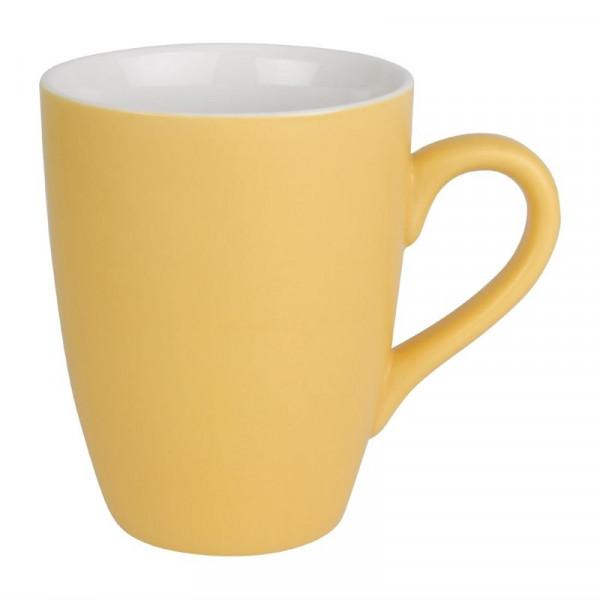 Olympia Pastel Tassen gelb 34cl