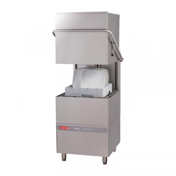 Gastro M Haubenspülmaschine Maestro 400V mit Ablaufpumpe, Seifenspender und Zwischenbehälter