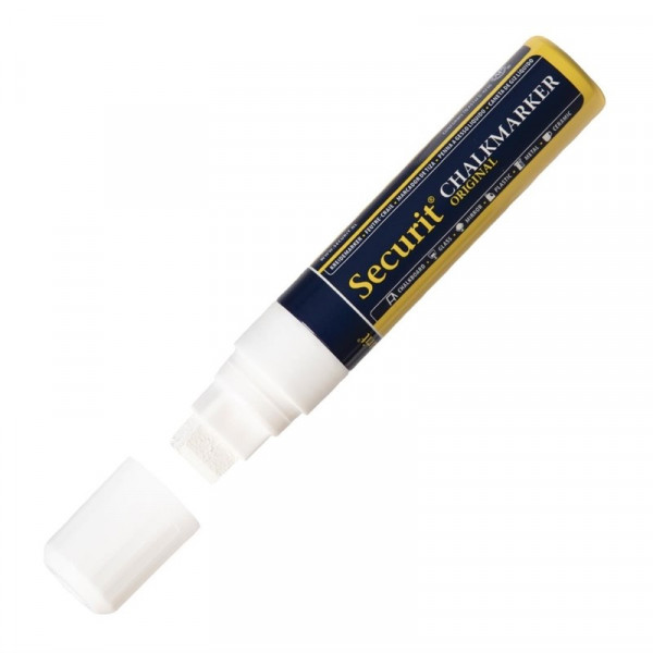 Securit 15mm Liquid Chalk Pen White