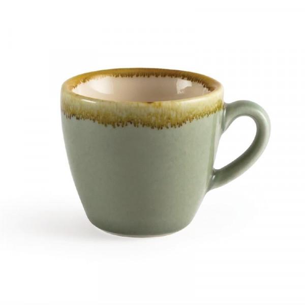 Olympia Kiln Espressotassen Moos 8,5cl