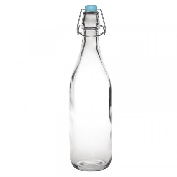 Olympia Glass Water Bottles 1Ltr