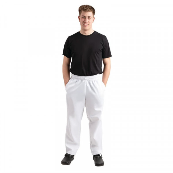 Whites Unisex Kochhose Easyfit weiß XS